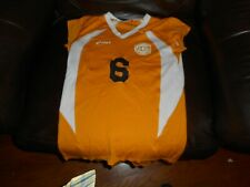 UNCG Greensboro Spartans gold volleyball jersey women's sz M-W