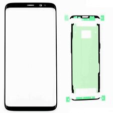 Front Outer Screen Glass Lens Replacement For Samsung Galaxy S8 With Adhesive