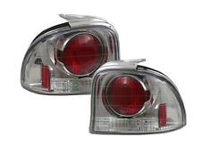 DODGE PLYMOUTH NEON 95 96 97 98 99 CHROME TAIL LIGHT ALTEZZA EURO STOP OEM LAMPS