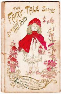 The Fairy Tale Series of Dressing Dolls Raphael Tuck 1894 Paper Dolls