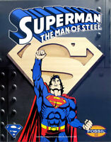 Superman DC Comics Fossil Watch 1995 Promotional Poster 28 x 22