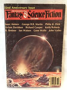 Fantasy & Science Fiction magazine 1981 Asimov, Martin Vintage Science Fiction