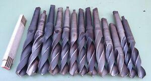 13 HSS Spiralbohrer MK4 29 32 33 34 35 36 37 38 39 Maschinen Bohrer Metallbohrer