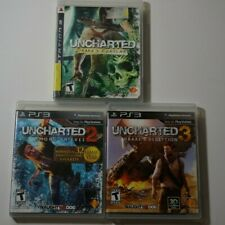 Uncharted 1/2/3 for PS3 Playstation 3 - All Tested - Ships Fast