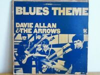 DAVIE  ALLAN  &  THE  ARROWS                 LP        BLUES  THEME