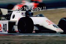 Stefan Johansson spirito 201c F1 STAGIONE 1983 foto 2