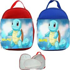 Squirtle Pokemon #1 Personalised Childs Lunch Bag