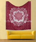 Ombre Wall Hanging Cotton Bedspread Gypsy Beach Throw Hippie Tapestry Wall Decor