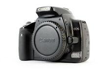 Canon EOS 400D 10.1MP Digital SLR Camera - Black (Body Only)