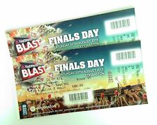 CRICKET MEMORABILIA - Mint T20 Finals Day Tickets / Stubs 20/08/16 Edgbaston