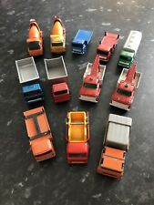 Job Lot Of Vintage Matchbox Trucks
