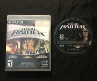 Tomb Raider Trilogy — Cleaned/Tested! Fast Shipping! (PlayStation 3, ps3, 2011)