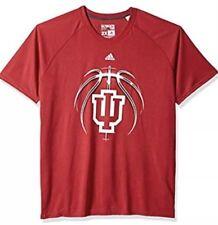 Adidas Men's Indiana Hoosiers Basketball Ball Team Jersey Shirt Xl Extra Large
