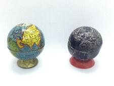 Pair of Vintage Globe Shape Pencil Sharpeners