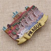 Czech Prague Fridge Magnets Tourist Souvenir Refrigerator Magnetic Stickers Gift