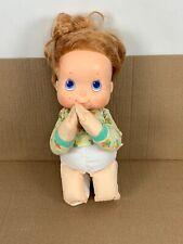 Vintage 1987 Tcfc Special Blessings Doll Matthew Praying 17 in Shirt