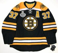 PATRICE BERGERON BOSTON BRUINS 2011 STANLEY CUP EDGE AUTHENTIC RBK JERSEY 54