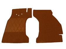 Fußmatten für Fiat Topolino C  Baujahr 1949–1955 Cognac Teppich