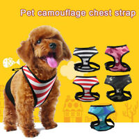 Small Large Dog Soft Adjustable Harness Pet Walk Out Hand Strap Vest Collar Rope