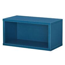 [en.casa]®Armoire variable moderne système d'étagére murale 30x15x15cm turquoise