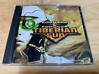 COMMAND & CONQUER - Tiberian Sun PC CD-ROM 2 Disc (Westwood, 1999) Video Game