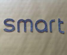 Rear Trunk Letter Logo Emblem Shiny Sticker for Smart Fortwo Forfour 453 15-18