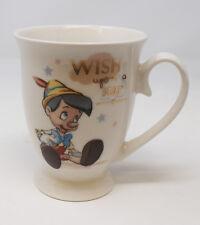 Disney Magical Moments Ceramic Mug Pinocchio Wish Upon A Star Child Colllectors