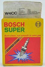 Bosch Super W4CC Four Pack Cr-Electrode NOS Snowmobile Spark Plug Germany C10