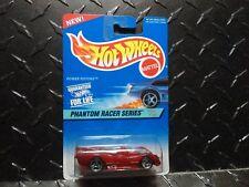 Hot Wheels #530 Red Power Pistons w/3 Spoke Wheels Unpainted Base