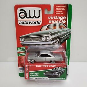 Rare Auto World Vintage Muscle 1964 Ford Galaxy 500 XL Raw Super Chase 1 Of 10