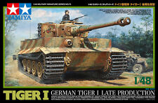 TAMIYA 1:48 KIT CARRO ARMATO GERMAN TIGER I  LATE PRODUCTION  ART 32575
