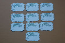 """Stampin Up Christmas Gift Cardstock Tags  from """"Tags til Christmas"""" Stamp Set"""