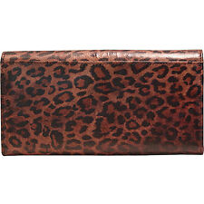Paul Smith portafoglio  leopardo / large trifold leopard