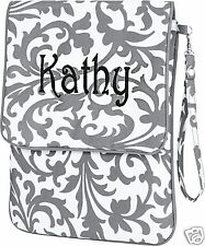 PERSONALIZED I PAD - NETBOOK - TABLET - KINDLE CARRY CASE MONOGRAM INCLUDED