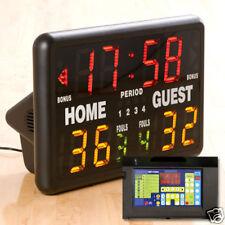 MacGregor Multisport Indoor Portable Scoreboard w/ Remote Control - NEW