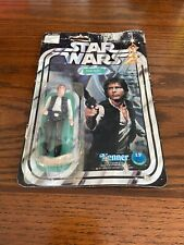 STAR WARS HAN SOLO SMALL HEAD VINTAGE FIGURE 1977 12 BACK KENNER No 38260