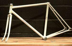 RARE 1997 3Rensho x Makino NJS Stamped 50 cm Pearl Track Bicycle Frameset Bike