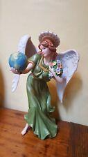 """Home Interior/Homco """"Esperanza"""" Angel of Hope Porcelain Figurine"""