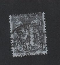Préoblitéré timbre de France N° 11, 1 c Sage