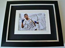 Amir Khan SIGNED 10X8 FRAMED Photo Autograph Display Boxing Champion & COA