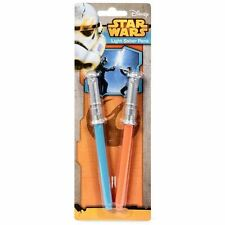 Star Wars Lightsaber Pens 2 Pack Darth Vader & Luke Sabers Official Merchandise