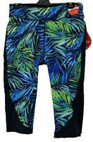 TS pants TAKING SHAPE plus sz S / 16 Tropical Burst Knee Shorts leggings NWT!