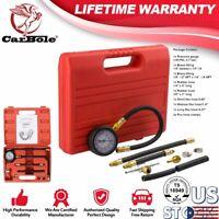 0-100 PSI Test Pressure Gauge Gasoline Kit, Fuel Injection Pump Injector Tester