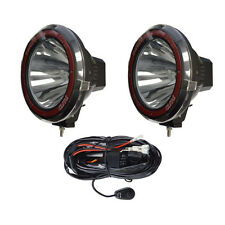 9 inches 4x4 Off Road 6000K 55W Xenon HID Fog Lamp Light Spot (2pcs) W/RELAY