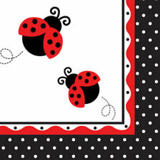 Ladybug Fancy Lunch Napkins - Birthday Party Supplies