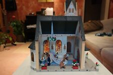 Playmobil Kirche mit Orgelmusik, Glockenläuten + Figuren, Ringe mit Stecker4296