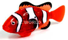 Remote Control RC Micro NEMO CLOWN FISH Robo Fish MINI  Aquarium Toy *VIDEO*