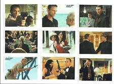 The Complete James Bond Casino Royale Dangerous Liaisons Chase Set DL1 to DL9