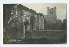 Postcard Waltham Abbey Old Gate J James RP Enfield Cheshunt Theydon Bois