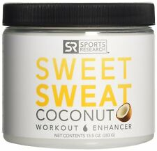 NEW!! Sweet Sweat with Extra Virgin Organic Coconut Oil; 'XL' Jar 13.5 oz.
